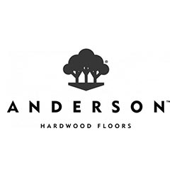 Anderson Wood Flooring Logo at Fargo Linoleum
