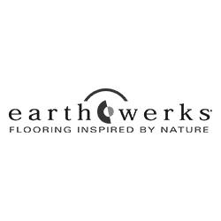 EarthWerks Vinyl Flooring Logo at Fargo Linoleum