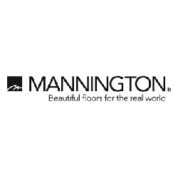 Mannington Wood Flooring Logo at Fargo Linoleum