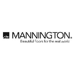 Mannington Vinyl Flooring Logo at Fargo Linoleum