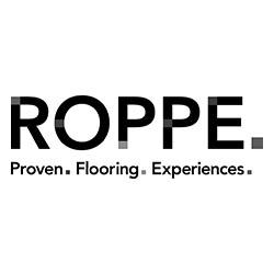Roppe Vinyl Flooring Logo at Fargo Linoleum