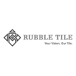 Rubble Tile Ceramic Flooring Logo at Fargo Linoleum
