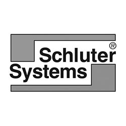Schluter Systems Ceramic Flooring Logo at Fargo Linoleum
