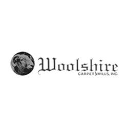 Woolshire Carpet Mills Logo at Fargo Linoleum