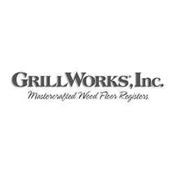 GrillWorks, Inc. Wood Flooring Logo at Fargo Linoleum