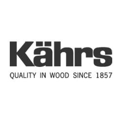 Kahrs Wood Flooring Logo at Fargo Linoleum