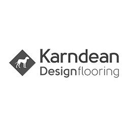 Karndean Vinyl Flooring Logo at Fargo Linoleum